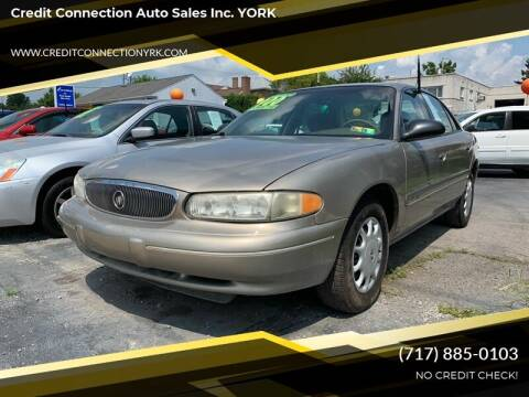 2002 Buick Century for sale at Credit Connection Auto Sales Inc. YORK in York PA