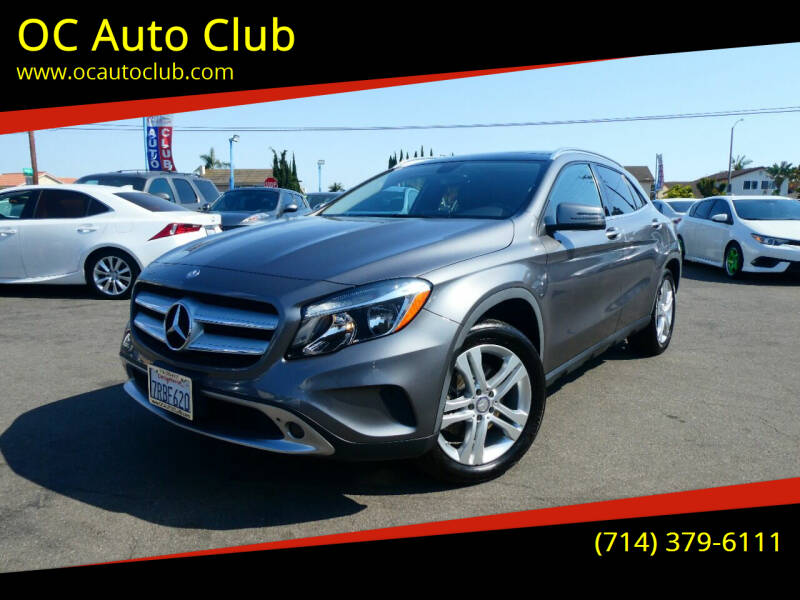 2015 Mercedes-Benz GLA for sale at OC Auto Club in Midway City CA