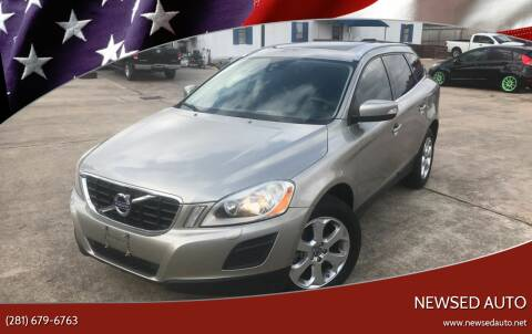 2013 Volvo XC60 for sale at Newsed Auto in Houston TX