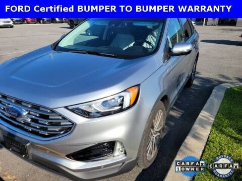 2020 Ford Edge for sale at PHIL SMITH AUTOMOTIVE GROUP - Tallahassee Ford Lincoln in Tallahassee FL