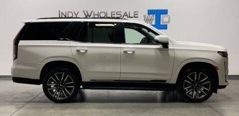 2021 Cadillac Escalade for sale at Indy Wholesale Direct in Carmel IN