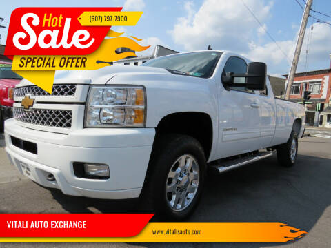 2013 Chevrolet Silverado 3500HD for sale at VITALI AUTO EXCHANGE in Johnson City NY