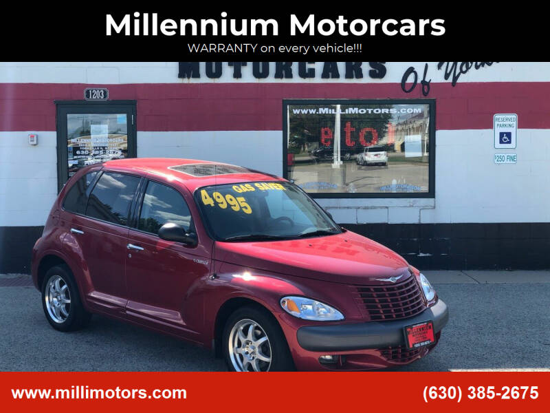 2002 Chrysler PT Cruiser for sale at Millennium Motorcars in Yorkville IL