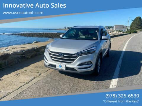 2016 Hyundai Tucson for sale at Innovative Auto Sales in North Hampton NH