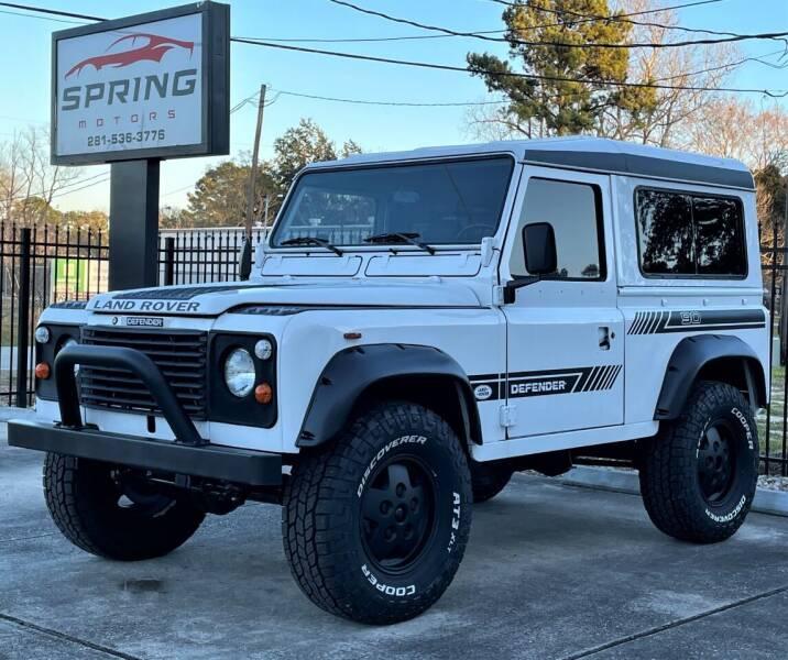 1985 Land Rover Defender for sale at Spring Motors in Spring TX