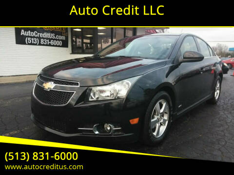 2014 Chevrolet Cruze for sale at Auto Credit LLC in Milford OH