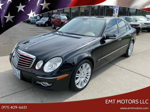 2007 Mercedes-Benz E-Class for sale at EMT MOTORS LLC in Portland OR