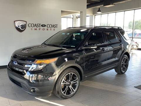 2015 Ford Explorer for sale at Coast to Coast Imports in Fishers IN