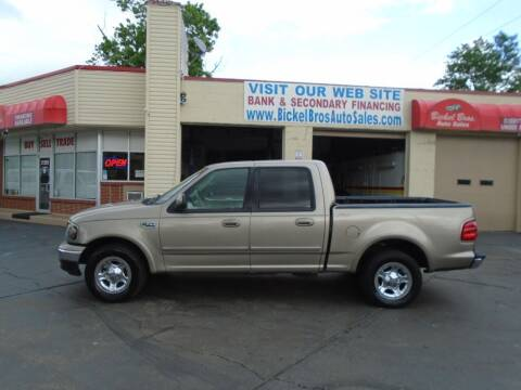 2002 Ford F-150 for sale at Bickel Bros Auto Sales, Inc in Louisville KY