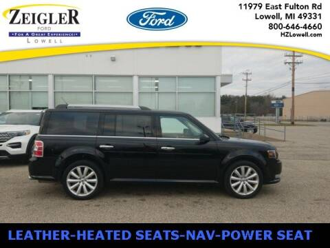 2018 Ford Flex for sale at Zeigler Ford of Plainwell- michael davis in Plainwell MI