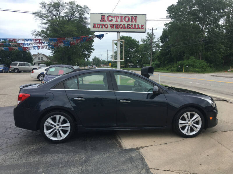 2015 Chevrolet Cruze for sale at Action Auto Wholesale in Painesville OH