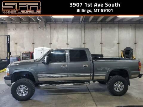 2002 Chevrolet Silverado 2500HD for sale at SFR Wholesale in Billings MT