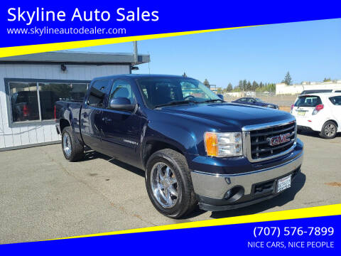 2008 GMC Sierra 1500 for sale at Skyline Auto Sales in Santa Rosa CA