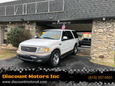 1999 Ford Expedition for sale at Discount Motors Inc in Old Hickory TN