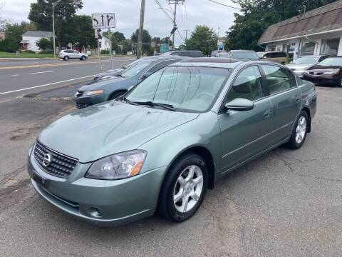 2005 Nissan Altima for sale at ENFIELD STREET AUTO SALES in Enfield CT