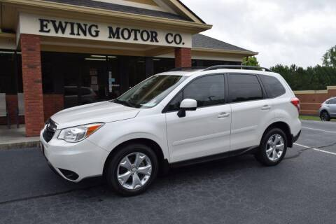 2014 Subaru Forester for sale at Ewing Motor Company in Buford GA