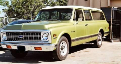 1971 Chevrolet Suburban for sale at Classic Car Deals in Cadillac MI