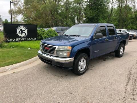 2005 GMC Canyon for sale at Station 45 Auto Sales Inc in Allendale MI