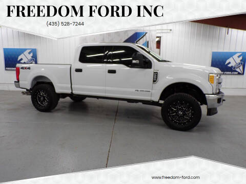 2017 Ford F-250 Super Duty for sale at Freedom Ford Inc in Gunnison UT