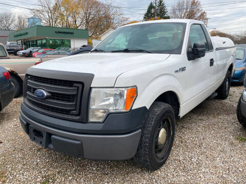 2013 Ford F-150 for sale at GREENLIGHT AUTO SALES in Akron OH
