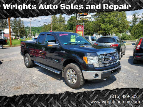 2014 Ford F-150 for sale at Wrights Auto Sales and Repair in Dolgeville NY