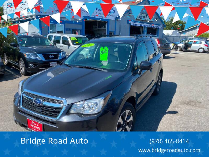 2017 Subaru Forester for sale at Bridge Road Auto in Salisbury MA
