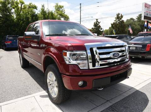 2013 Ford F-150 for sale at Grant Car Concepts in Orlando FL