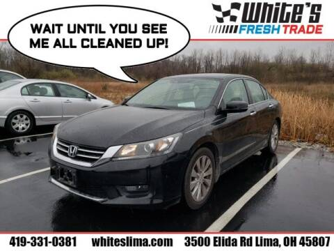2014 Honda Accord for sale at White's Honda Toyota of Lima in Lima OH