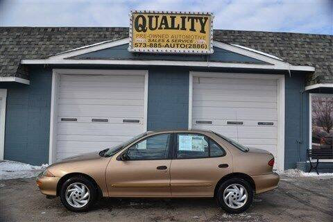 1998 Chevrolet Cavalier for sale at Quality Pre-Owned Automotive in Cuba MO