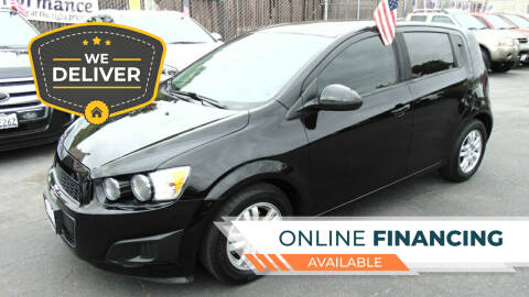 2012 Chevrolet Sonic for sale at So Cal Performance in San Diego CA