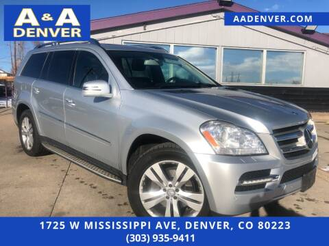 2012 Mercedes-Benz GL-Class for sale at A & A AUTO LLC in Denver CO