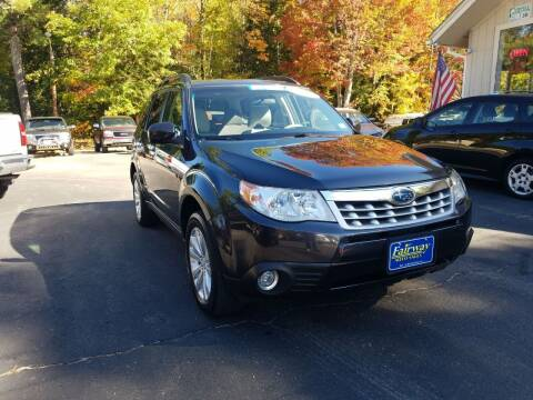2013 Subaru Forester for sale at Fairway Auto Sales in Rochester NH