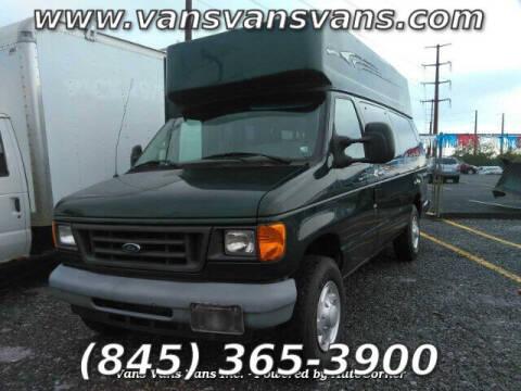 2007 Ford E-Series Cargo for sale at Vans Vans Vans INC in Blauvelt NY