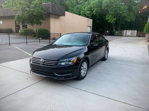 2013 Volkswagen Passat for sale at Adrenaline Autohaus in Cary NC