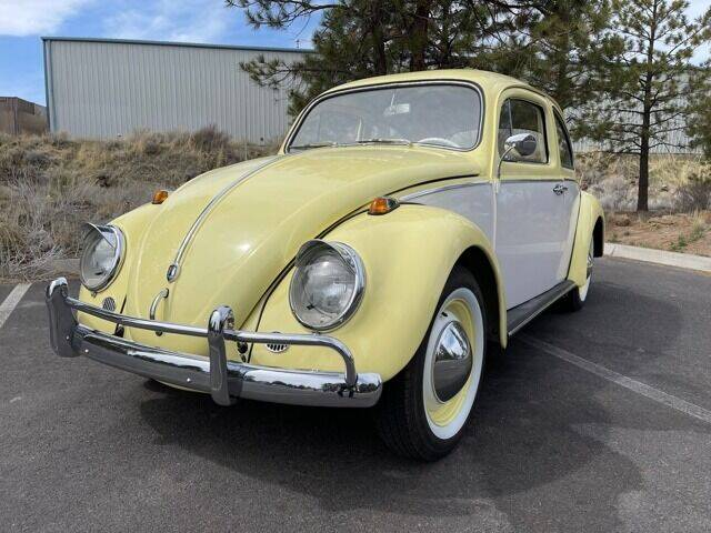 1962 Volkswagen Beetle for sale at Parnell Autowerks in Bend OR