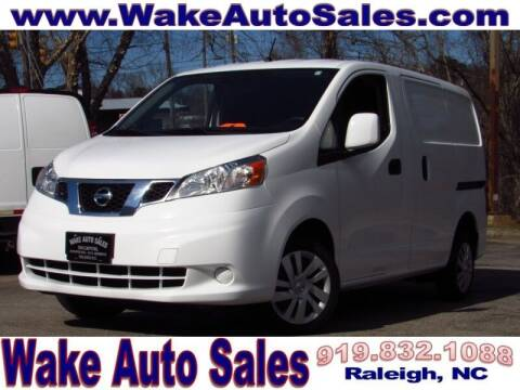 2017 Nissan NV200 for sale at Wake Auto Sales Inc in Raleigh NC