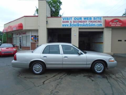 2003 Mercury Grand Marquis for sale at Bickel Bros Auto Sales, Inc in Louisville KY