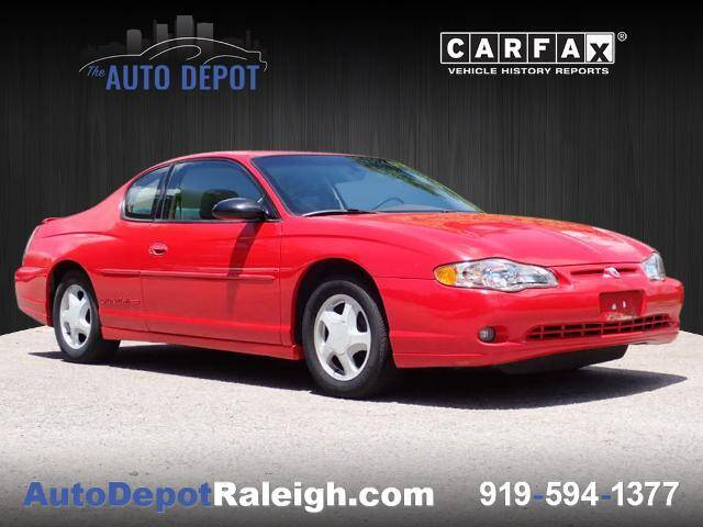 2000 Chevrolet Monte Carlo for sale at The Auto Depot in Raleigh NC