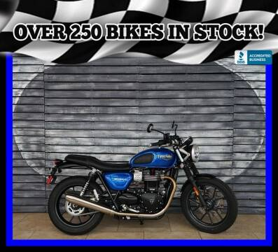 2017 Triumph Street Twin for sale at Motomaxcycles.com in Mesa AZ