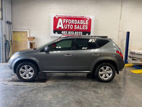 2006 Nissan Murano for sale at Affordable Auto Sales in Humphrey NE