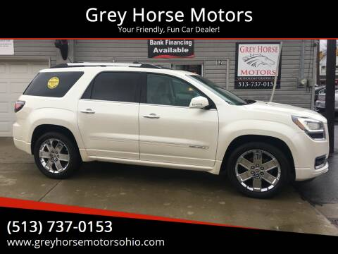 2014 GMC Acadia for sale at Grey Horse Motors in Hamilton OH