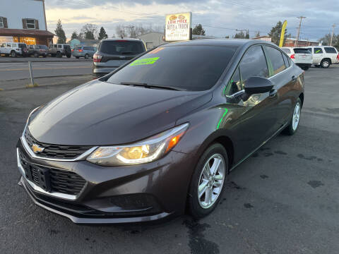 2017 Chevrolet Cruze for sale at Low Price Auto and Truck Sales, LLC in Brooks OR