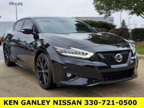 2021 Nissan Maxima for sale at Ken Ganley Nissan in Medina OH
