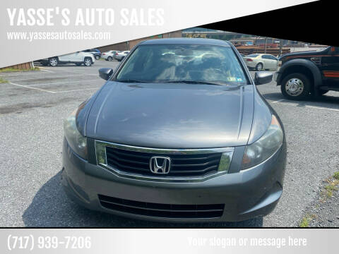 2010 Honda Accord for sale at YASSE'S AUTO SALES in Steelton PA