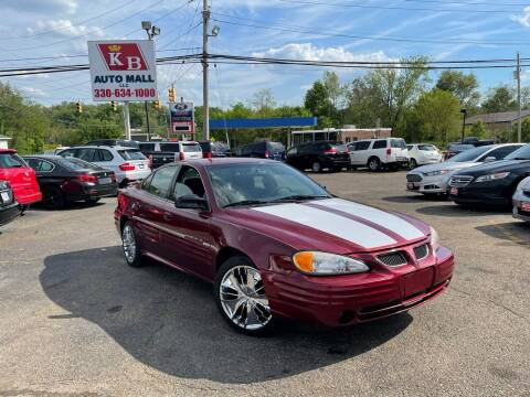 2001 Pontiac Grand Am for sale at KB Auto Mall LLC in Akron OH