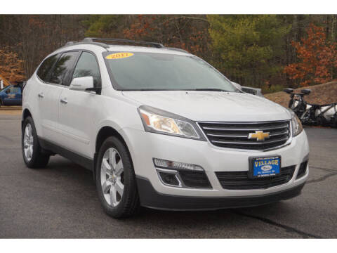 2017 Chevrolet Traverse for sale at VILLAGE MOTORS in South Berwick ME