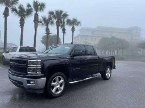 2014 Chevrolet Silverado 1500 for sale at Gulf Financial Solutions Inc DBA GFS Autos in Panama City Beach FL