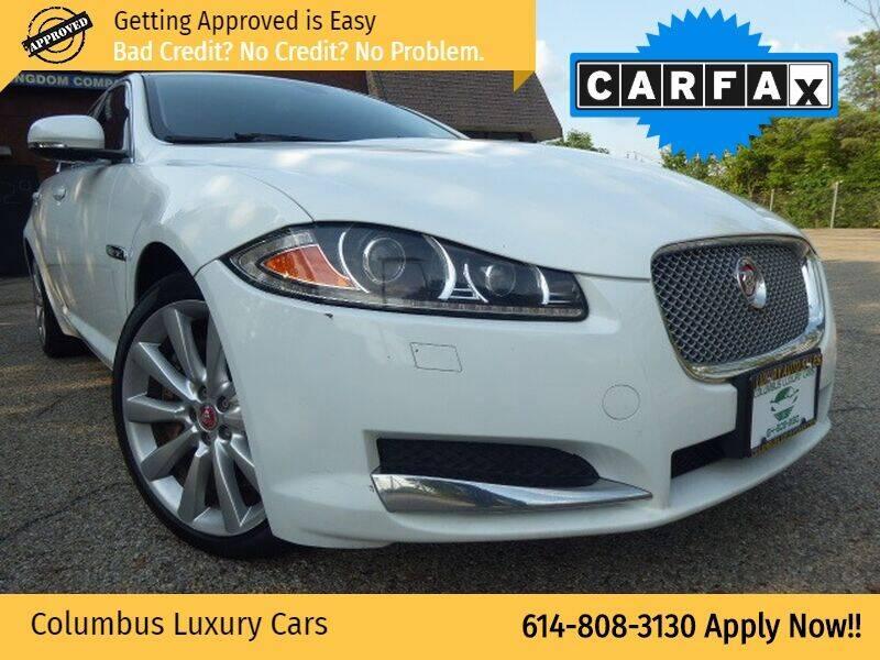 2014 Jaguar XF for sale at Columbus Luxury Cars in Columbus OH