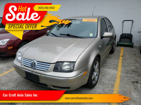 2004 Volkswagen Jetta for sale at Car Craft Auto Sales Inc in Lynnwood WA
