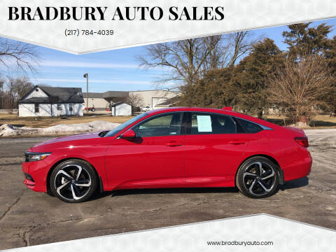 2018 Honda Accord for sale at BRADBURY AUTO SALES in Gibson City IL